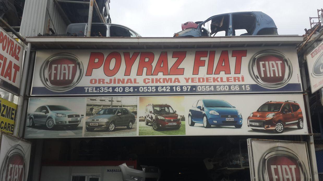 Poyraz Fiat - Dükkan